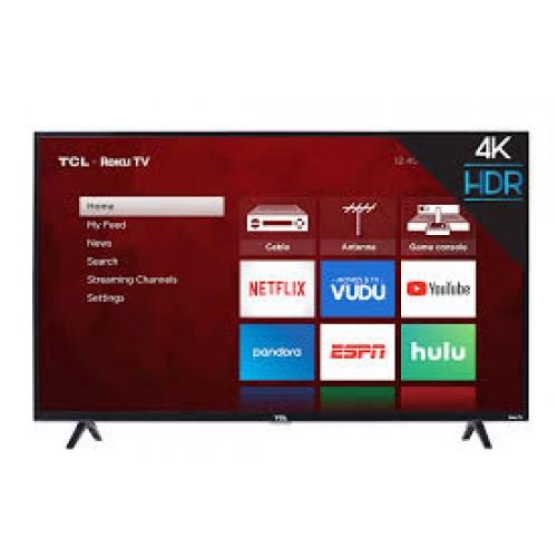 55″ TCL 4K Smart HDTV- 55S425