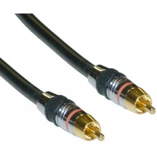 Digital Coax Audio Cable CRISP Coaxial Connection 6-50′