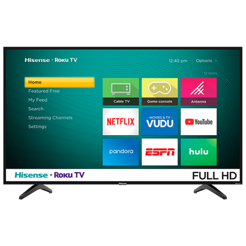 43″ Hisense 1080p Smart HDTV- 43H4030
