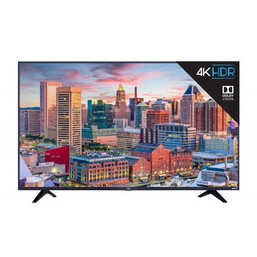 55″ TCL 4K Smart HDTV- 55S517