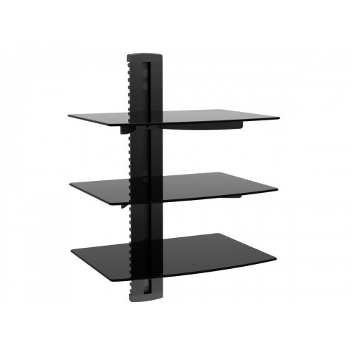 Triple Wall Shelf For Components