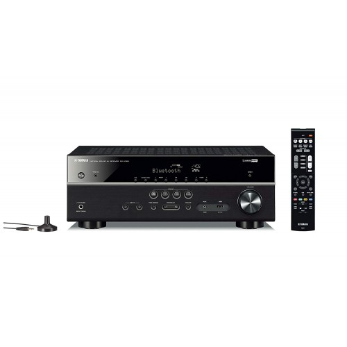 Yamaha RX-V385 5.1-Channel 4K Ultra HD AV Receiver With Bluetooth